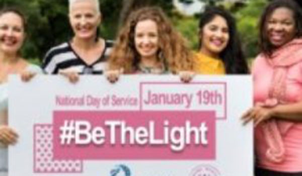 Women's March Shrinks as Movement to #BeTheLight Grows