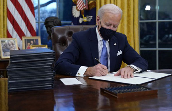 Biden's First Week Is Like Experiencing a Hell Week Initiation