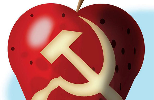 Stopping Communism - Washington Times - Illustration by Alexander Hunter