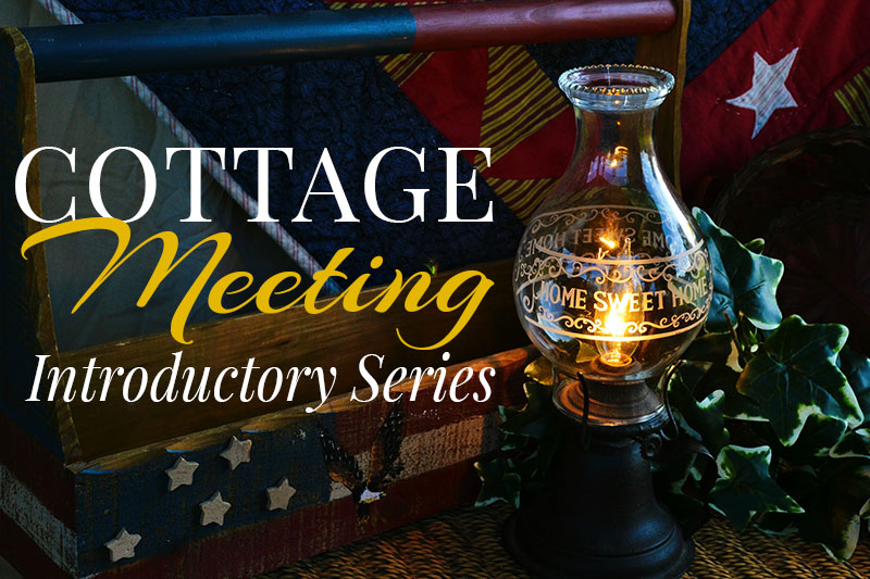 Virtual Cottage Meeting Introductory Series - Moms for America