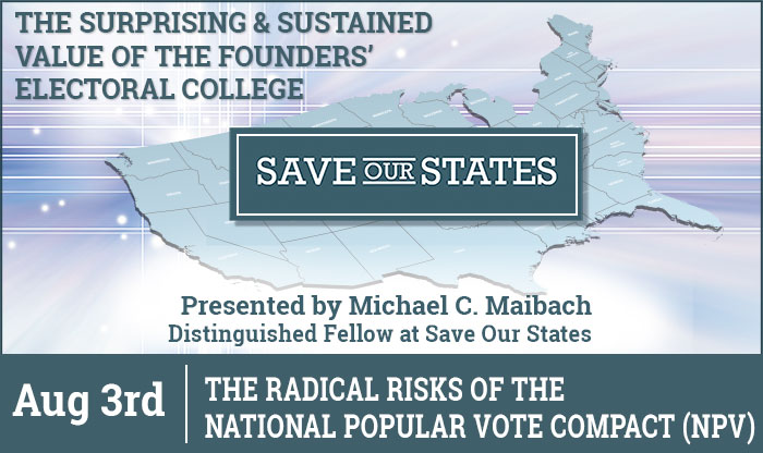 Save Our States - Four Part Virtual Series - Part 3
