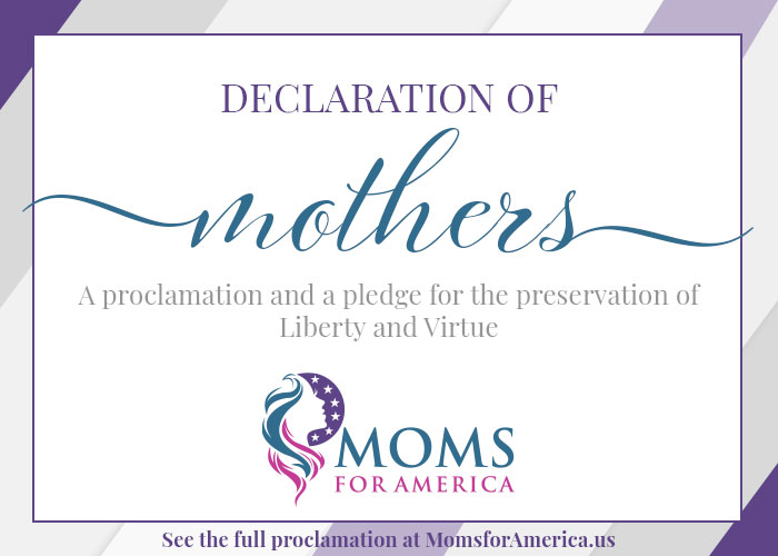 Declarations of Mothers - Pledge Card Front