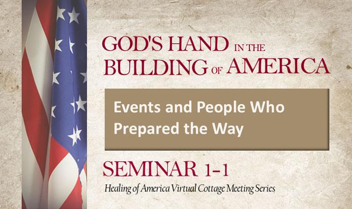 Healing of America Virtual Cottage Meeting - Summer Series - Moms for America - Seminar 1-1