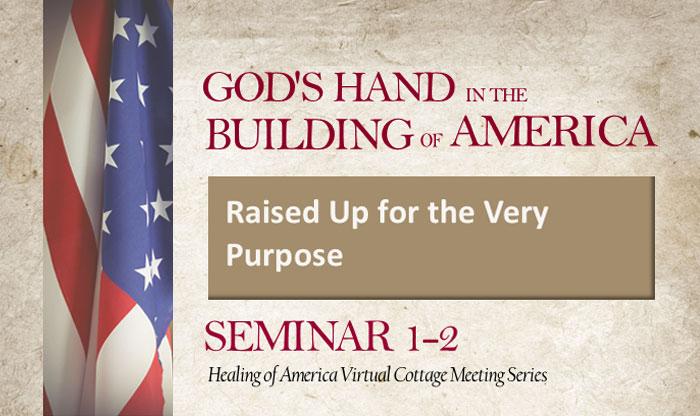 Healing of America Virtual Cottage Meeting - Summer Series - Moms for America - Seminar 1-2