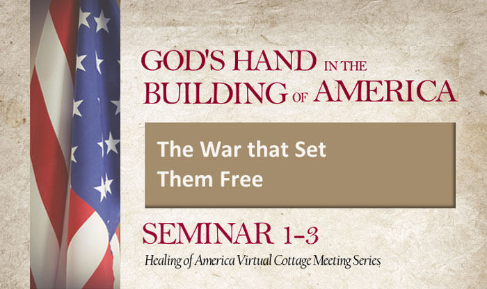 Healing of America Virtual Cottage Meeting - Summer Series - Moms for America - Seminar 1-3