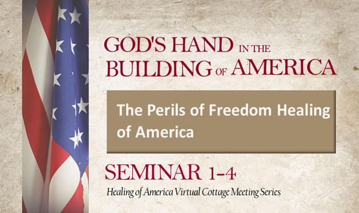 Healing of America Virtual Cottage Meeting - Summer Series - Moms for America - Seminar 1-4
