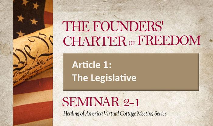 Healing of America Virtual Cottage Meeting - Summer Series - Moms for America - Seminar 2-1