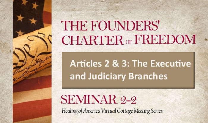 Healing of America Virtual Cottage Meeting - Summer Series - Moms for America - Seminar 2-2