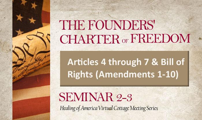 Healing of America Virtual Cottage Meeting - Summer Series - Moms for America - Seminar 2-3