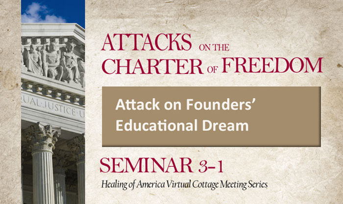 Healing of America Virtual Cottage Meeting - Summer Series - Moms for America - Seminar 3-1
