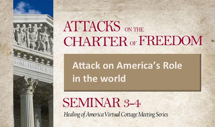 Healing of America Virtual Cottage Meeting - Summer Series - Moms for America - Seminar 3-4