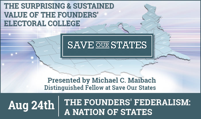Save Our States - Four Part Virtual Series - Part 4