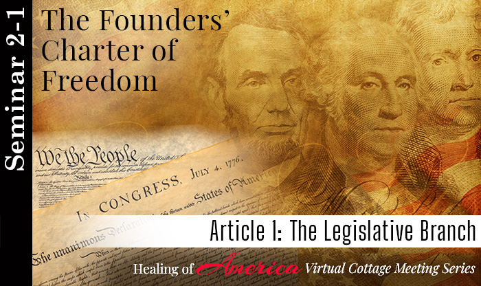 Seminar 2 - The Founders' Charter of Freedom - Healing of America - Virtual Cottage Series - Moms For America