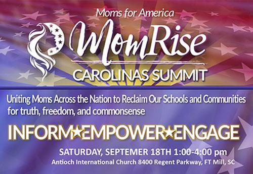North Carolina MomRise Summit-Moms-For-America