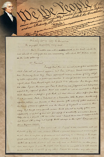 James Madison Notes Constitutional Convention