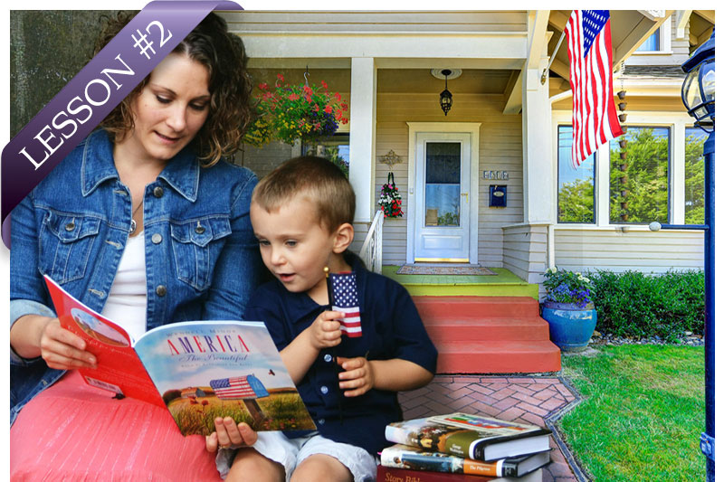 No Place Like Home - Cottage Meetings - Moms for America